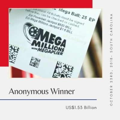Anonymous Winner – $1.53 Billion